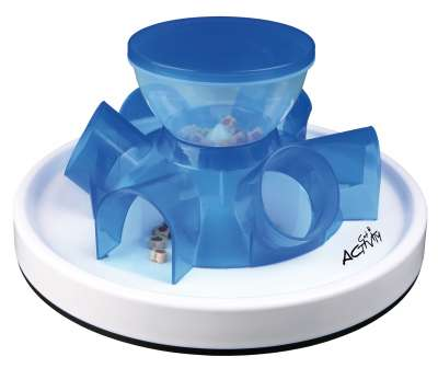 Trixie Cat Activity Tunnel Feeder Strategiespiel 28 /14  cm