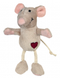 Mouse, Plush  Light brown by Trixie