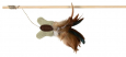 Trixie Playing rod with Butterfly and feathers 45 cm
