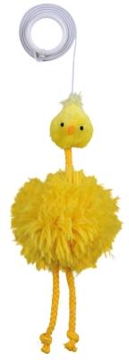 Trixie Huhn am Gummiband, Plüsch Chicken  20 cm