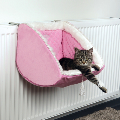 Trixie Cat Princess Radiator Bed Rosa 38x30x38 cm