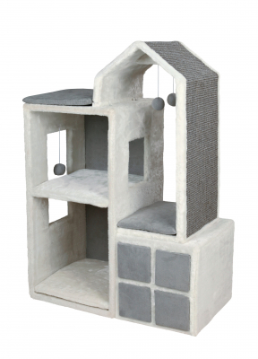 Trixie Cat Tower Gala Cinzento 73×41×105 cm