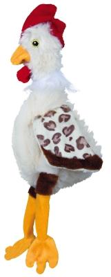 Trixie Coq sans Son, Peluche 32 cm