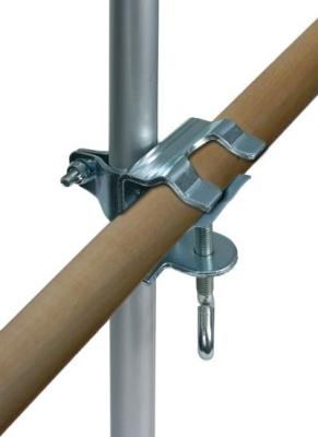Trixie Geländer-Klemme mit Teleskopstange 1-2 m