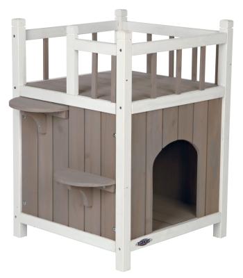 Trixie Cat's Home Natura con Balcone 45x65x45 cm