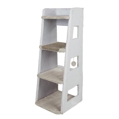 Trixie Cat Tower Luis Weiß 44x45x116 cm