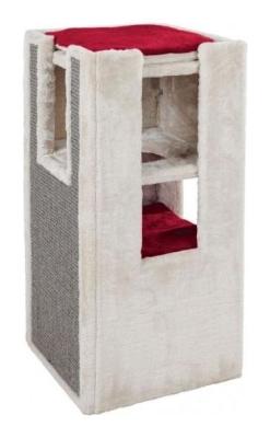 Trixie Cat Tower Mora Cinza claro 39×39×78 cm