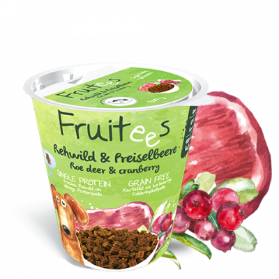 bosch Fruitees - Roe Deer & Cranberries Srnec 200 g