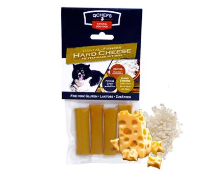 QCHEFS Dental-Fitness Hard Cheese Hüttenkäse