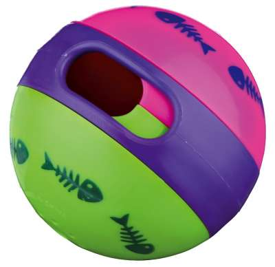 Trixie Cat Activity Snackball, Kunststoff Verschiedenfarbig 6 cm