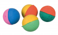 Trixie Set of Soft Balls, Foam Rubber 4.3 cm