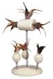 Trixie Luffa-Spielzeug auf Spiralfedern, Sisal Beige dabei kaufen und sparen