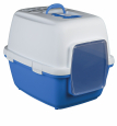 Xavi Litter Tray, with Hood  Blue by Trixie