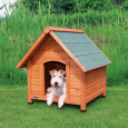 Trixie Natura Cottage Dog Kennel  71x77x76 cm  - Hundehus i plastik