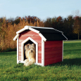 Natura Country Dog Kennel  71x69x75 cm  fra Hundehus i plast