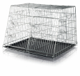 Trixie Wire Crate, Galvanized, Double  90×64×79 cm