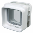 Trixie SureFlap Dual Scan Cat Flap with Microchip Identification White