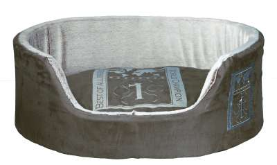 Trixie Cama Best of all Breeds, Taupe/Gris claro 100x75 cm