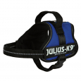 Julius K9 Power Harnais, Mini/M Bleu - Harnais pour American Pit Bull Terrier