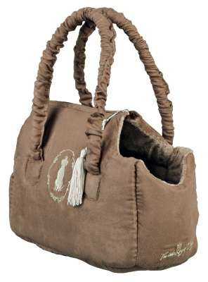 Trixie Little King of Dogs Carrier 12x17x25 cm Taupe