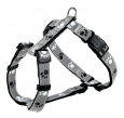 Trixie Silver Reflect H-Harness  Sort
