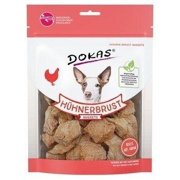 Dokas Croquettes de Poulet pour Chien 100 g Magret de canard