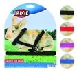 Trixie Geschirr mit Leine für Kaninchen, Nylon