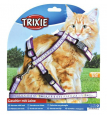 Cat Harness XL with Leash, Nylon 34-57/1.3 cm from Trixie