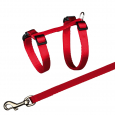 Cat Harness with Leash, Nylon Trixie 27-45/1 cm