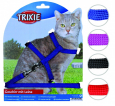 Cat Harness with Leash, Nylon 22-42/1 cm Trixieinilta