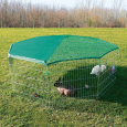 Outdoor Run with Protective Net  210×75 cm fra Trixie