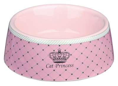 Trixie Cat Princess Keramiknapf Rosa 180 ml