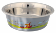 Trixie  Stainless Steel Bowl with Plastic Coating  900 ml butik