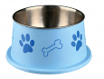 Trixie  Long-Ear Bowl, Stainless Steel/Plastic  19 cm butik