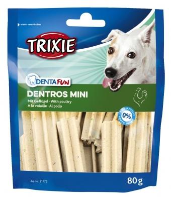 Trixie Denta Fun Dentros Mini 80 g Geflügel