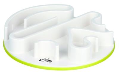 Trixie Dog Activity Labyrinth Feeder Strategiespiel Weiß 30 cm