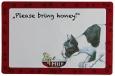 """Trixie Placemat """"Please bring honey"""" 44x28 cm"""
