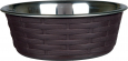 Trixie Stainless Steel Bowl with Rattan  800 ml