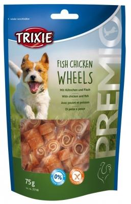 Trixie Premio Fish Chicken Wheels Fisk & Høns 75 g