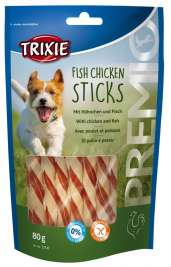 Premio Fish Chicken Sticks Trixie 4011905317472