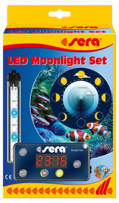 Sera LED Moonlight Set Schwarz 3 W
