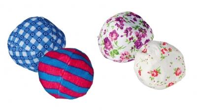 Trixie Set Ritsel-Ballen, polyester/katoen 5 cm