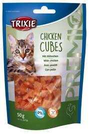 Premio Chicken Cubes con Pollo Trixie 4011905427065