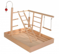 Trixie Wooden Playground 34x26x25  cm