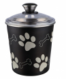 Trixie Food and Snack Jar, Black