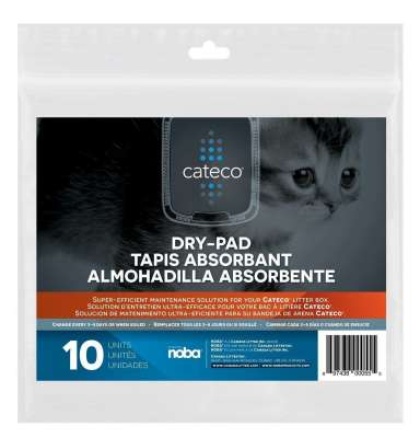 Cateco Careco Cat-Dry-Pad 10 Dry-Pads