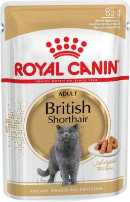 Royal Canin Feline Breed Nutrition - British Shorthair Adult 85 g
