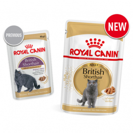 Royal Canin Feline Breed Nutrition British Shorthair Adult 85 g online shop