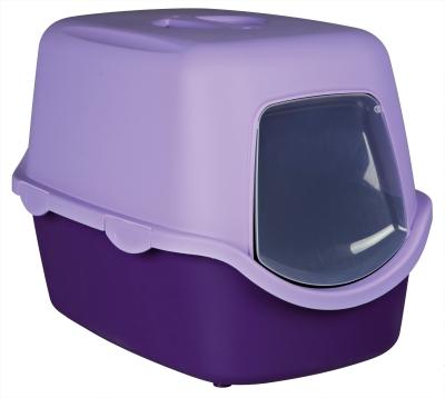 trixie katzentoilette vico mit haube purpur g nstig online kaufen. Black Bedroom Furniture Sets. Home Design Ideas