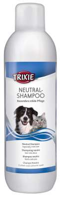 Trixie Zachte Neutrale Shampoo voor Alle Rassen 1 l